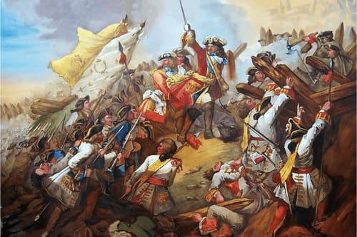 Война за испанское наследство Бурбоны