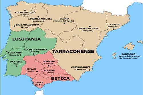 Древняя история Испании провинции Римской империи