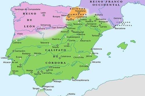 История средневековья мусульманская Испания