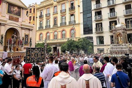 Испания праздник Корпус Кристи