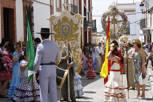 Праздник Майских крестов Испания