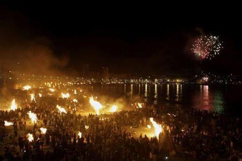 Испания праздник Сан Хуан Коста дель Соль