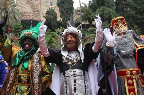 Праздник трех волшебных королей Испания