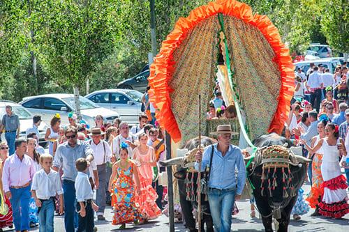 Испания Праздник Сан Мигель Ферия де Торремолинос