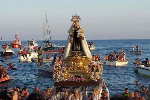Праздник Вирхен дель Кармен