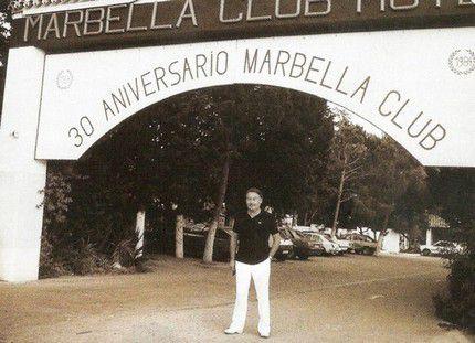 Alfonso Hohenlohe основатель отеля Марбелья Клуб