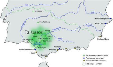 Государство Тартес 1000 лет до н.э.