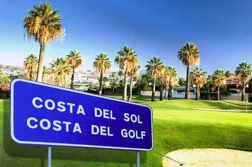 Гольф клубы в Испании на Коста дель Соль