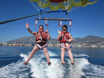 Воздушный спорт Испания Коста дель Соль