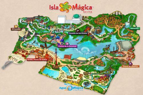 Парк аттракционов Волшебный остров Севилья