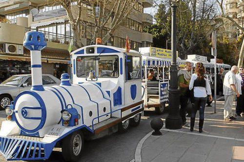 Экскурсионный туристический поезд Марбелья