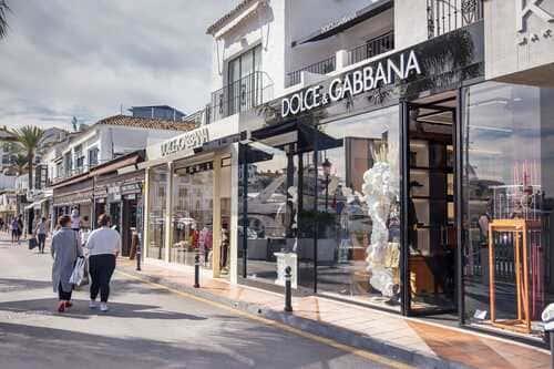Шопинг на Коста дель Соль бутики Порт Банус Марбелья