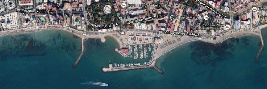 Спортивный порт Марбелья Коста дель Соль Испания