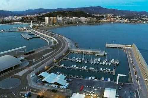 Спортивный порт Малага Коста дель Соль Испания