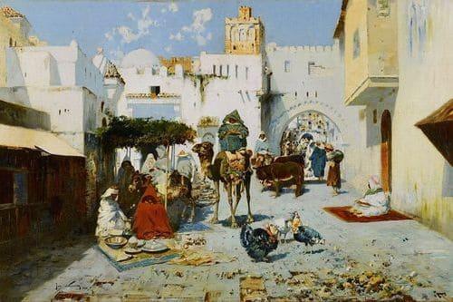 Танжер Марокко средние века