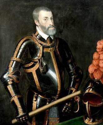 Король Испании Карл I или Карлос V