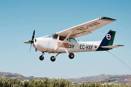 Воздушные экскурсии на самолете в Испании