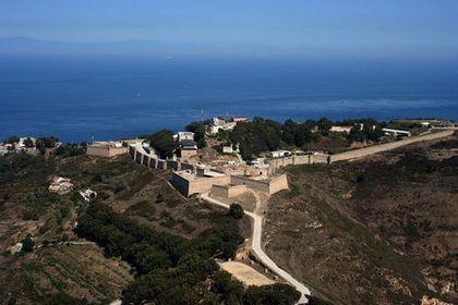 Сеута Крепость на горе Ачо