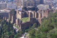 Малага Дворец-крепость Алькасаба