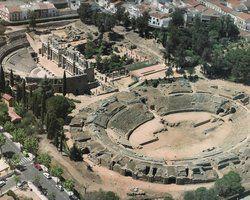 Мерида древнеримский амфитеатр