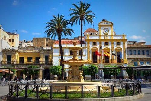 Мерида Площадь Испании