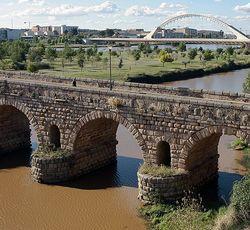Мерида Римский мост Пуэнто Романо