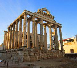 Мерида храм Дианы