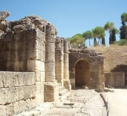 Древнеримский город Италика в Испании в Севилье