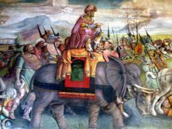 История древнеримского города Италика