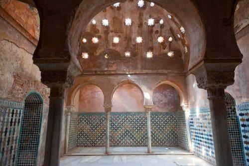 Гранада достопримечательности Гранады Арабские бани