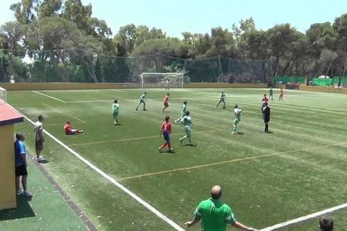 Детский спортивный лагерь по футболу в Марбелье