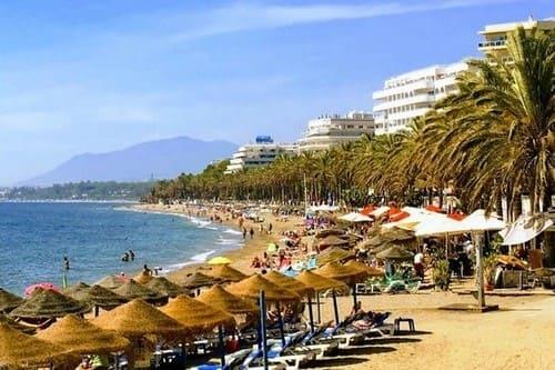 Пляжный отдых в Марбелье