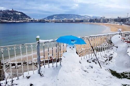 Погода Коста Басков зимой