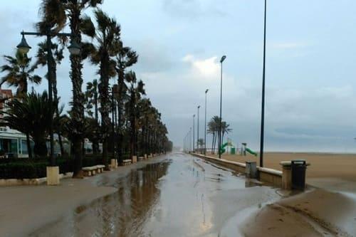 Погода Коста Валенсия зимой
