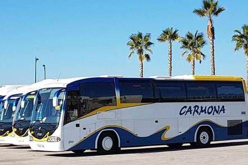 Трансфер аэропорт Малага Бенальмадена автобус до 35 человек
