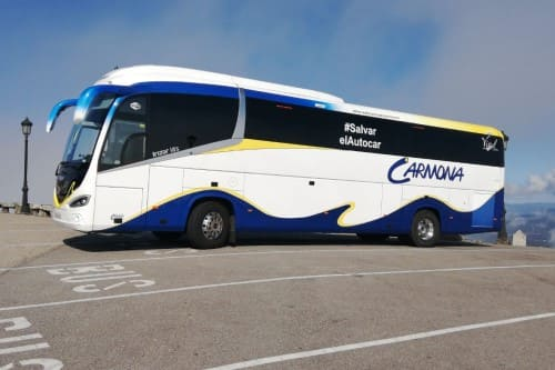 Групповой трансфер аэропорт Малага Манильва на автобусе автобус до 55 человек