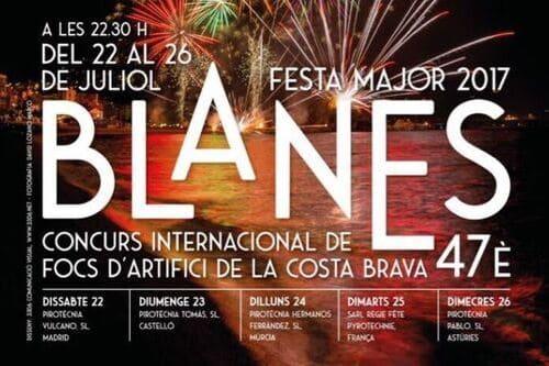 Фестиваль фейерверков Огни Бланеса