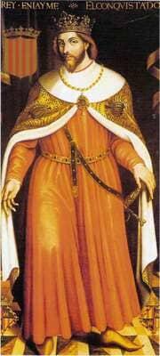 Король Арагона Хайме I Завоеватель
