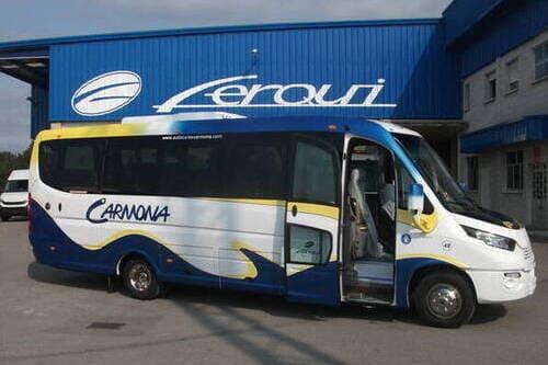 Трансфер аэропорт Малага Бенальмадена автобус до 22 человек