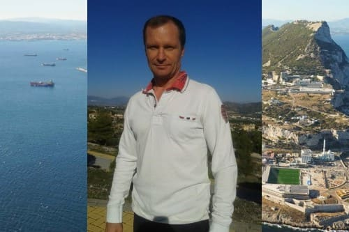 Русский гид в Гибралтаре Альберт Гальцев