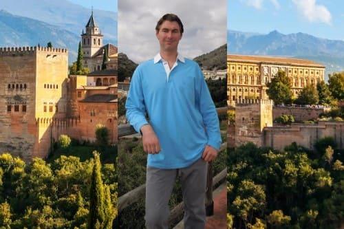Русский гид в Гранаде Максим Шебуров