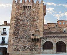 Касарес старый город Башня Бухако