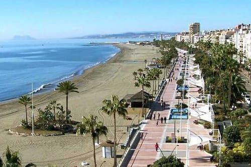Пляжный отдых в Испании на Коста дель Соль в Эстепоне