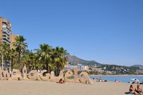Пляжный отдых в Малаге на Коста дель Соль