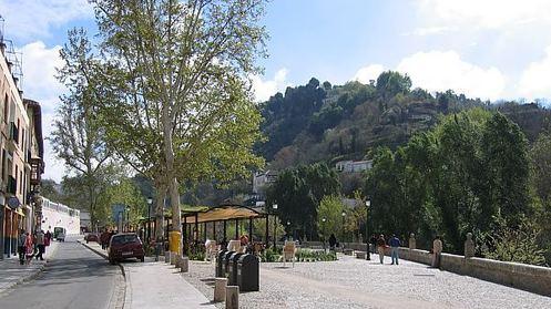 Гранада Пасео де Лос Тристес