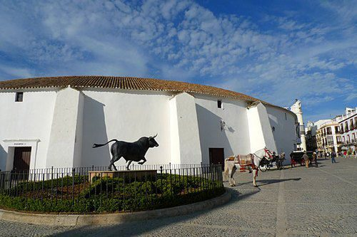 Арена для корриды Ронда Андалусия Испания