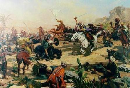 Андалусия арабские воины