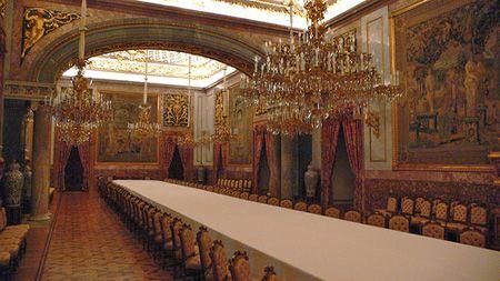 Банкетный зал Королевского дворца Мадрида