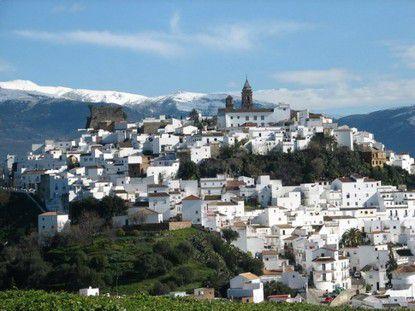 Белая деревня Андалусии Alcalá de los Gazules