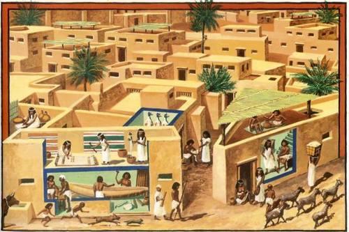 Древний Египет город